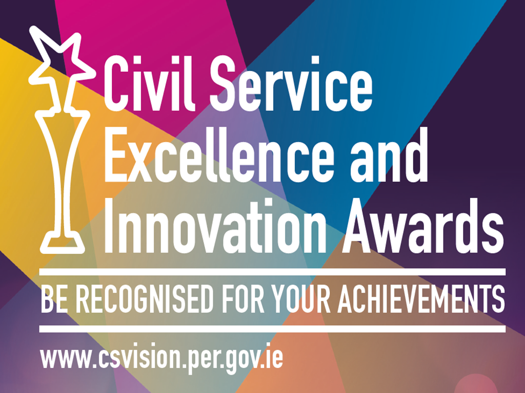 Civil Service Excellence and Innovation Graphic