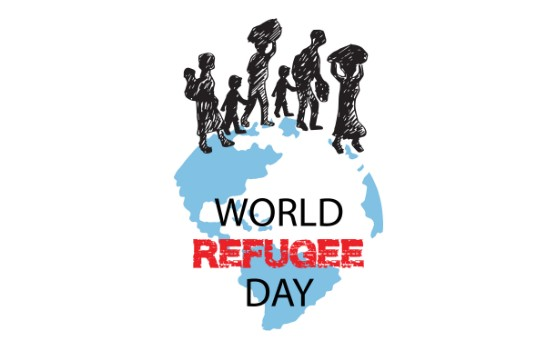 World Refugee Day graphic